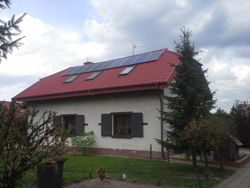 Panienszczyzna, gm. Jastkow - 3,9 kWp