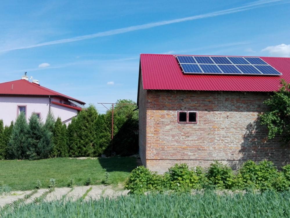 Szklarnia, gm. Zakrzew - 5,2 kWp