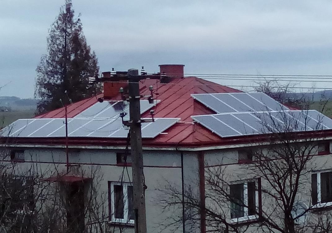 Zaburze, gm. Zolkiewka - 6,24 kWp
