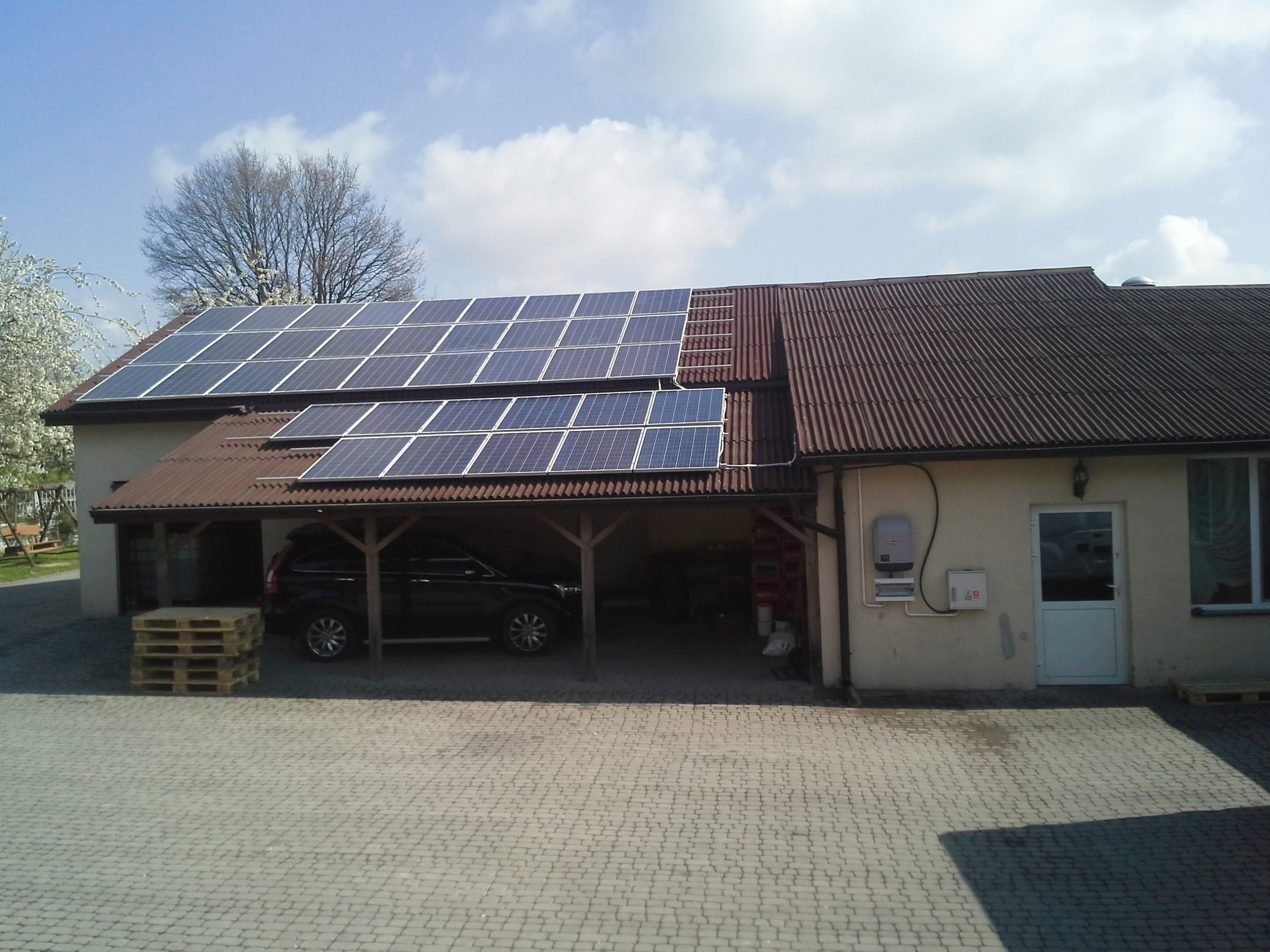 Bogucin, gm. Garbów - 9,36 kWp