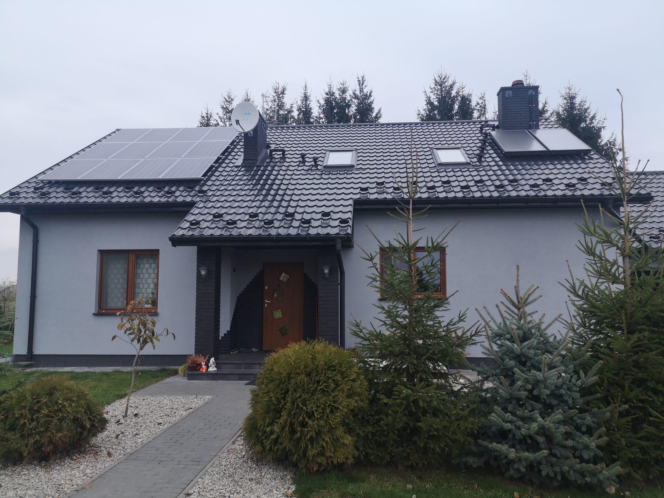 Dębiny, gm. Abramów - 3,36 kWp