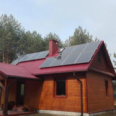 Gwizdów gm. Modliborzyce - instalacja 3,12 kW
