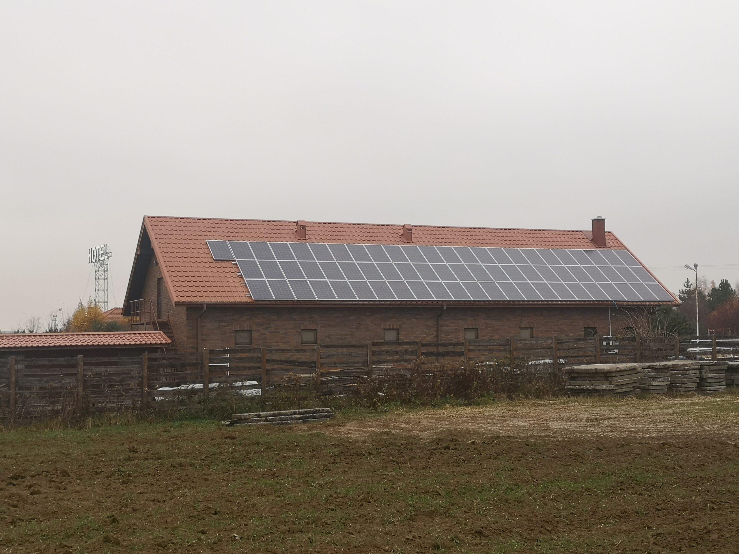 Hotel Biesiada - Bogucin (gmina Garbów) - 19,6 kWp