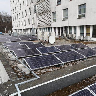 Hotel Mercure Unia Lublin - instalacja 23 kWp