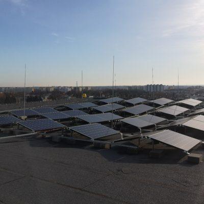 Lublin, ul. Techniczna - instalacja 21 kWp (wschód-zachód) - moduły monokrystaliczne Longi 300W