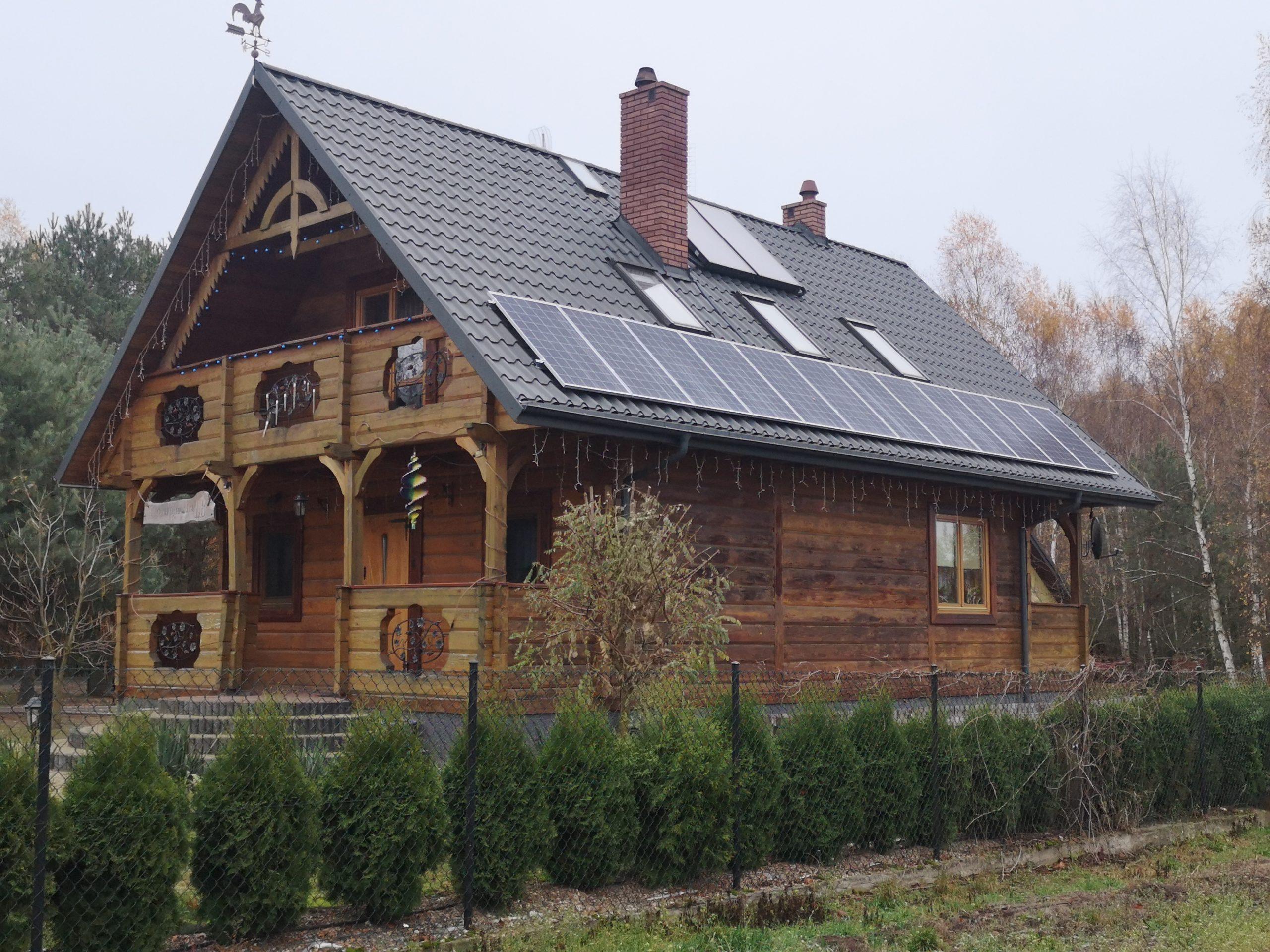 Michałówka (gmina Abramów) - 3,36 kWp, moduły BOVIET 280W