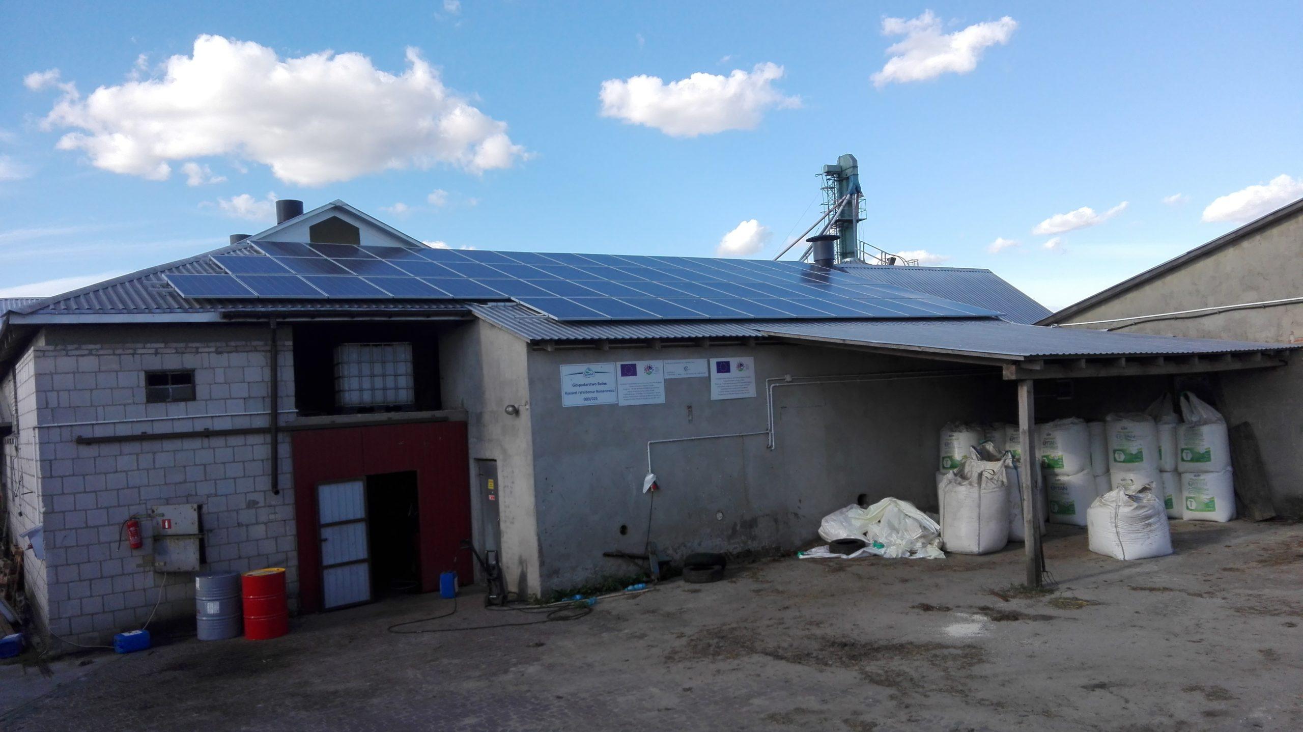 Niewęgłosz, gmina Czemierniki - 14,56 kWp
