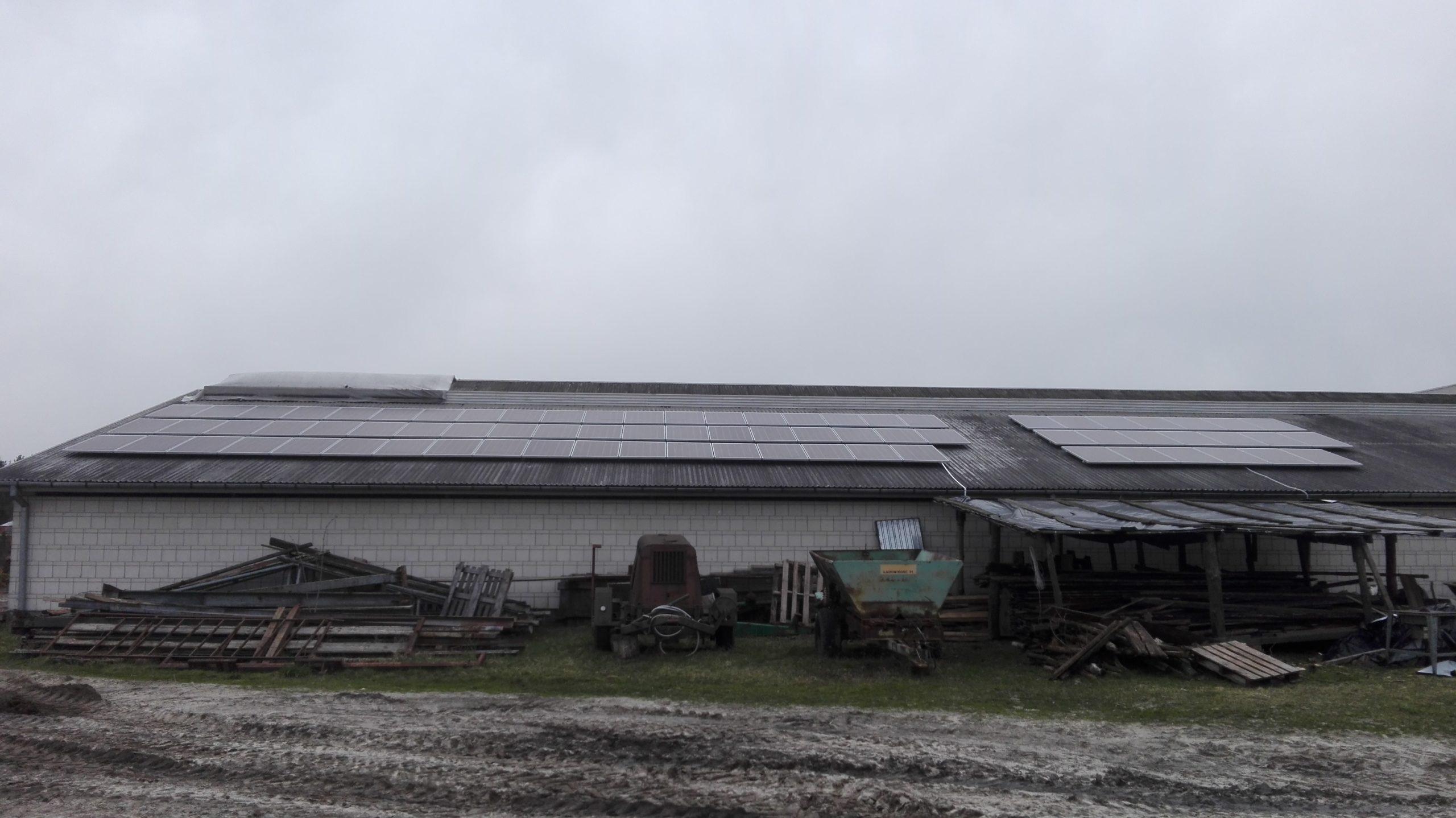 Pawluki, gmina Hanna - 19,76 kWp