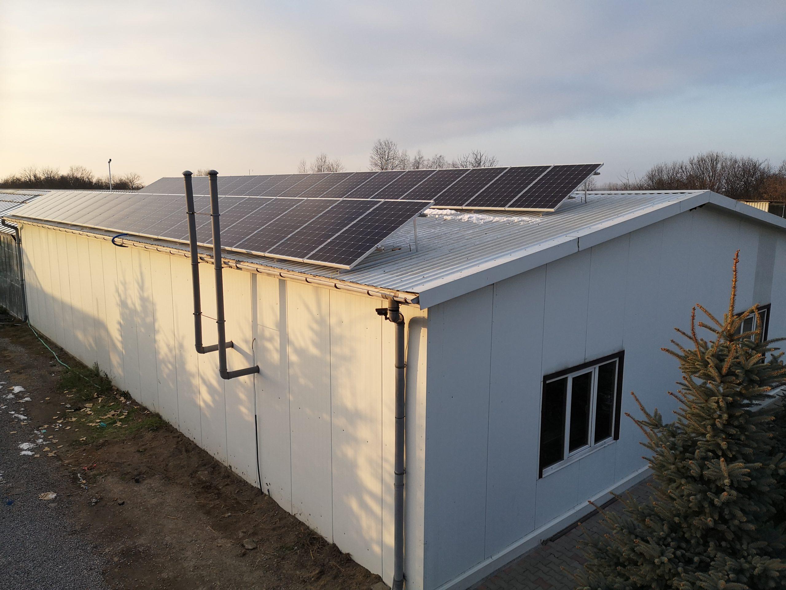 Poniatowa - 12 kWp, moduły monokrystaliczne Bruk-Bet Solar 300W