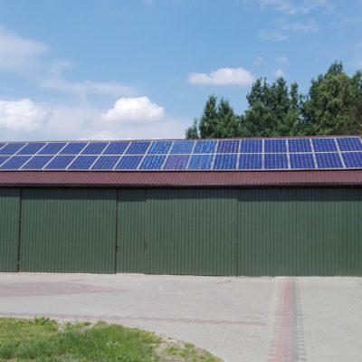 Przymiarki, gmina Serokomla - 9,72 kWp