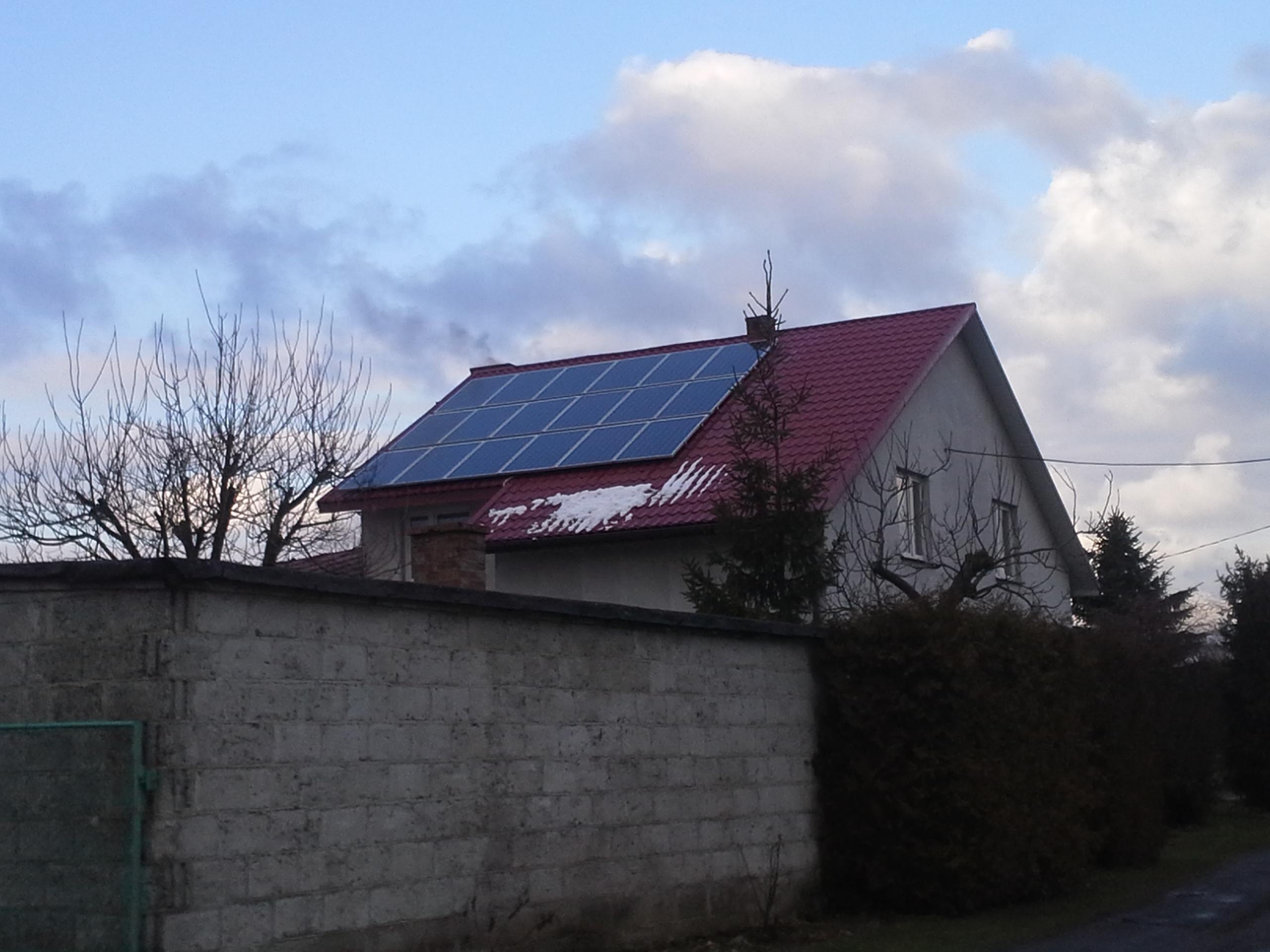 Radawiec k. Lublina - instalacja 4,68 kWp