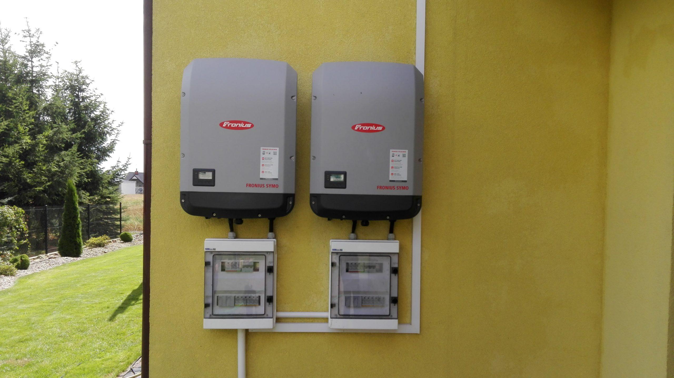 Radowiec, gm. Radzyń Podlaski - 2 inwertery Fronius 15 kW