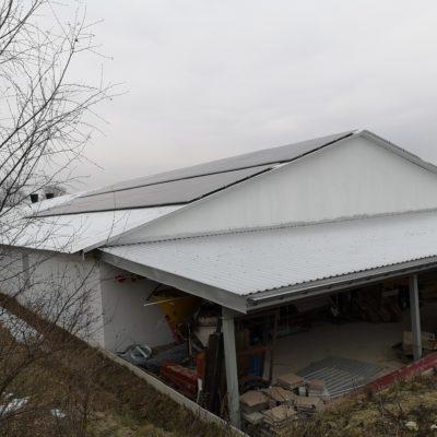 Stoczek, gmina Czemierniki - 44,82 kWp - zachód