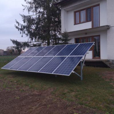 Wielkie, gmina Abramów - 3,36 kWp na gruncie