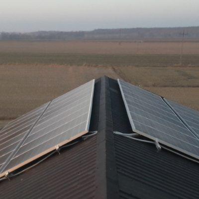 Wojciechów Kolonia - instalacja 9,36 kWp