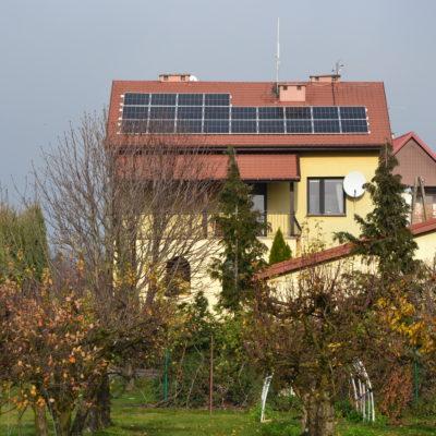 Wyżnianka-Kolonia - instalacja 7,37 kWp