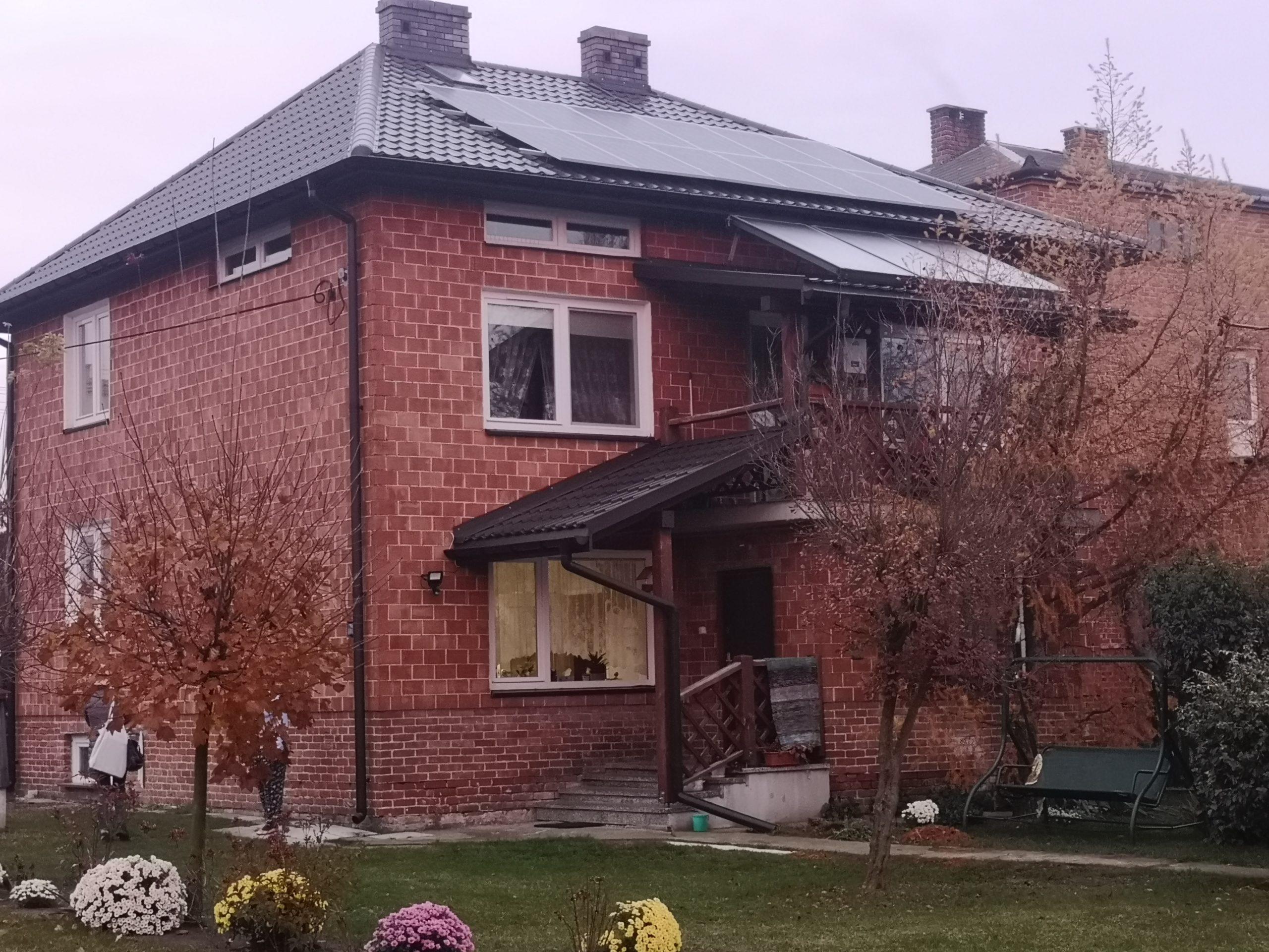 gmina Abramów, ul. Szkolna - 3,36 kWp