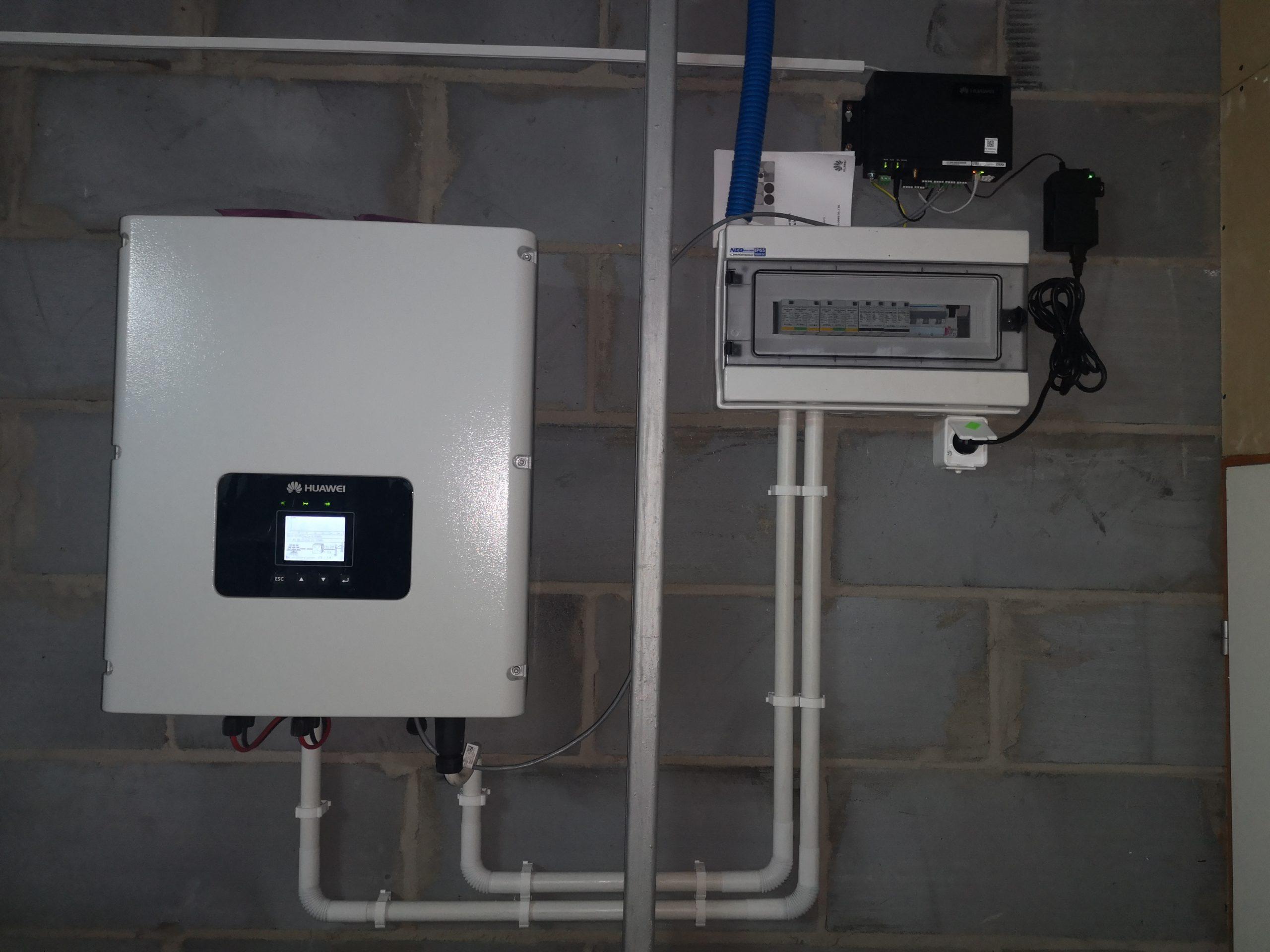 inwerter Huawei +  SmartLogger 1000! (monitoring instalacji) - Poniatowa
