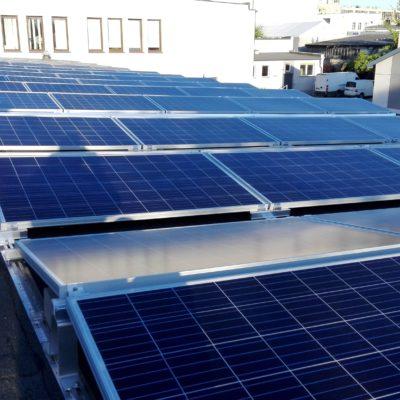 ul. Skromna 3, Lublin - 80 kWp, moduły Bruk-Bet Solar 270W
